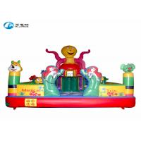 Quality Indoor Inflatable Bounce Castle Magical Trip Combo Bouncy Bouncer For Kids for sale