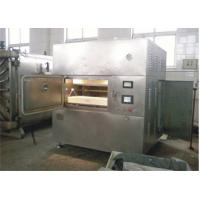 China 30kw Stainless Steel Microwave Vacuum Drying Equipment 5 - 25kg/Hour on sale