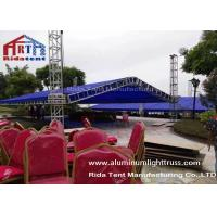 Quality A Shape Aluminium Exhibition Truss System 1-4m Unit Length Easy To Set Up for sale