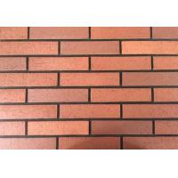 Buy cheap Customized Red wire cut Split Face Brick for Exterior Wall Decoration from wholesalers