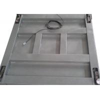 Buy cheap Single Deck Industrial Floor Weighing Scales 1.2 X 1.5m 3t Powder Coated With Ramps from wholesalers