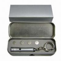 Quality Laser Pointer, Made of Brass, Powered by 3 x AG13 Button Battery for sale