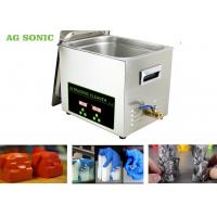 Quality Stainless Steel 304 Digital Ultrasonic Cleaner Dx Dx 6 DX7 Print Head 10L Tank for sale