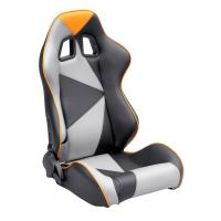 Buy cheap Adjustable Style PU / PVC Leather Racing Seat / Sports Car Seat with single from wholesalers