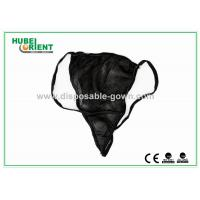 Quality Breathable Female Disposable Thong Underwear For Beauty Center for sale