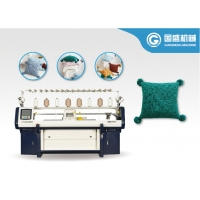 Quality Three System Textile Home Computerized Flat Knitting Machine for sale
