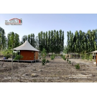 Buy cheap Customized Steel Frame Luxury Glamping Safari Tent For Outside Glamping Hotel from wholesalers