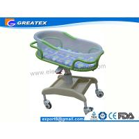 Quality Anti-rust Stable ABS Plastic Hospital Baby Cots Bed / Cart For Children Welfare for sale