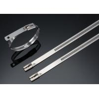 Quality Naked SS304/SS316 Ladder Type Stainless Steel Cable Ties Self Locking 450MM for sale