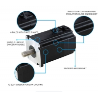 Best supplier full extension 1.02~3Nm water cooled brushless dc motor price