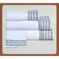 Quality Factory Price Customed Embroidery Logo White Cotton Hand Towel Wholesale for sale