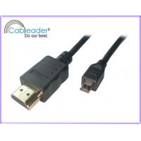 China HDMI to Micro HDMI cables A Type Male To D Type Male for Mobile,digital cameral suport 3D,1080p on sale