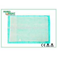 Quality Customized Disposable Bed Sheets Nonwoven Fabric Pillow Cover , CE / ISO Approved for sale