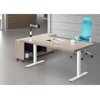 Quality Good Craft Executive Office Furniture , Luxury Executive Desks Fine Wood Material for sale