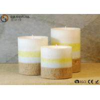 Buy cheap gaoerjia lovely 3 Set Flameless Battery Operated LED Pillar Candles from wholesalers