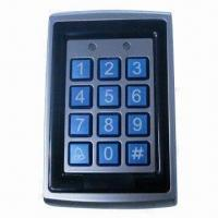 Quality Standalone access control keypad, measures 120 x 76 x 27mm for sale