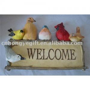 China Polyresin Wall Decorations (Bird Design) on sale