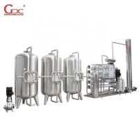Integrate 380V 50HZ Industrial Water Treatment Equipment Reverse Osmosis System