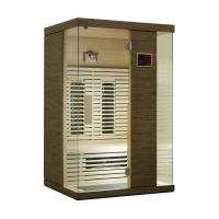 Quality Solid Wood Home Infrared Sauna Room for 2 Person, Ceramic Heater for sale
