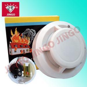 Quality Fire alarm battery wireless portable smoke detector sensor with sound alarm for sale