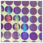 Quality Custom made high security anti-fake label hologram sticker , 3D secure genuine hologram sticker for sale