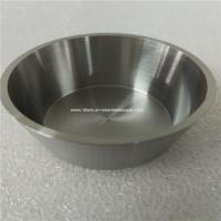 Quality 1pc 99.96% purity Tungsten crucible,OD 52mm,Thick 2mm,hight 25mm for sale