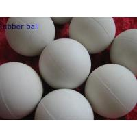 Buy cheap Low Temprature Resistant HNBR Solid Industrial Ball , Rubber Medicine Ball from wholesalers