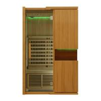 Quality Solid Wood Home Far Infrared Sauna Room 1800watt, Touch Control Panel for sale