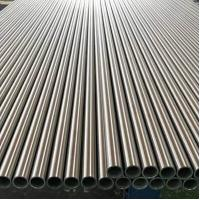 Quality Welded Polished 304 Stainless Steel Tubing , Flat Surface Cold Rolled Steel Pipe for sale