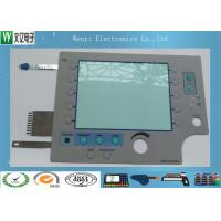 Silver ESD Layer 8 mm Embossing Key Membrane Switch With Multilayer