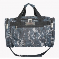 Quality Camouflage Polyester Outdoor Duffel Bag With Adjustable Shoulder Strap for sale