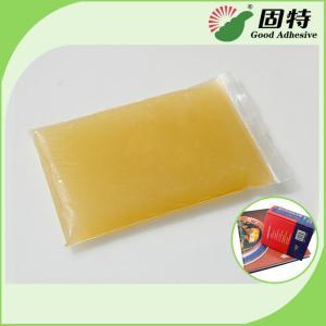 Quality Light Amber Block Bookbinding Hot Melt Adhesive Glue , Animal Hide Glue for sale