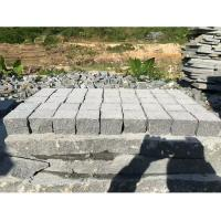 Quality Dark Grey Granite Paving Stones Exterior Decoration Eco - Friendly for sale