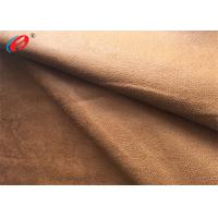Quality Foil Bronzed Warp Knit Micro Suede Polyester Fabric Faux Suede For Shoes for sale