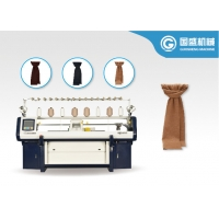 Quality Hat Double System Flat 12G Scarf Knitting Machine for sale