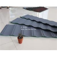 Quality Original Stone Coated Roofing Tiles , Steel Stone Coated Metal Roof Tile for sale
