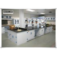 Quality Waterproof PP Lab Bench With Reagent Shelves In Chemistry Laboratory for sale