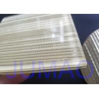 Quality Wire Glass Metal Laminated Mesh Fabric With Brass Material As Inner Layer for sale