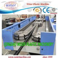 Quality 6-50mm diameter of plastic single wall PP PE PA corrugated pipe machinery with CE SGS for sale