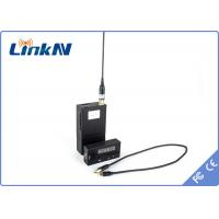 Buy cheap LinkAV Military Police Portable Mini wireless hd transmitter Lithium Battery Low Latency 150ms from wholesalers