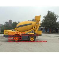 China 4 M3 mobile self loading concrete mixer with Cummins engine self-loading concrete mixer truck for sale on sale