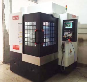 High Speed Engraving Milling Vertical CNC Machine Taiwan Brand Ball Screw