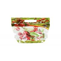 Quality Zipper Stand Up Pouch Fruit Fresh Bags Some Customized Small Hole To Keep Air Fresh for sale