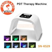 China Anti-aging PDT Beauty Machine Led Light Therapy Face Mask SNOWLAND Brand on sale