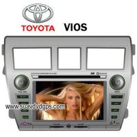 Quality Car DVD Video Player and GPS navi TV IPOD for TOYOTA VIOS for sale