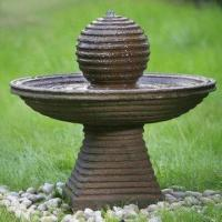 Quality Polyresin Water Fountain for Outdoor Furnishing, Direct Electricity Pump, Easy to Control for sale