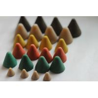China Deburring plastic media Finishing Abrasives with low wear rate in cone shape on sale