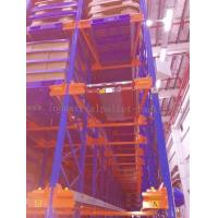 Quality Heavy Duty Pallet Storage Radio Shuttle Racking System Operated by Forklift / Shuttle Motor for sale
