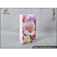 Quality Embossing Paper Cosmetic Packaging Boxes CMKY Pantone Printing OEM Accepted for sale