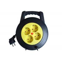 Quality 4 Way 220V Small Cable Reel Extension Cord Power Strip 16 Amp PP Material for sale
